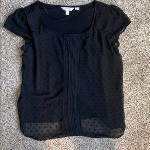 LC Lauren Conrad Black blouse